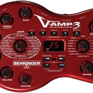 Behringer V-AMP3 — Гитарный моделирующий предусилитель / цифровой процессор эффектов, Артикул: 442989