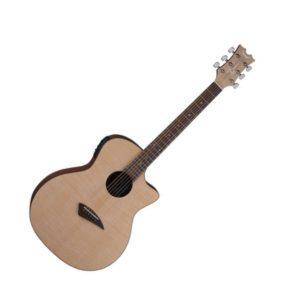 Электроакустическая гитара Dean AX FLAME — cutaway, ель, 4х полосный EQ, тюнер, Артикул: 445258