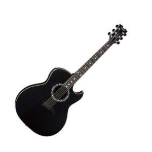 Электроакустическая гитара Dean EX BKS — EQ, тюнер, красное дерево, цвет черный, Артикул: 445271
