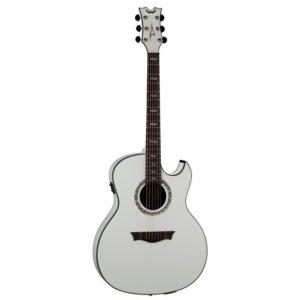 Электроакустическая гитара Dean EXULTRA CWH — с подкл. USB, актив.эл, EQ, тюнер, цвет — белый, Артикул: 446279