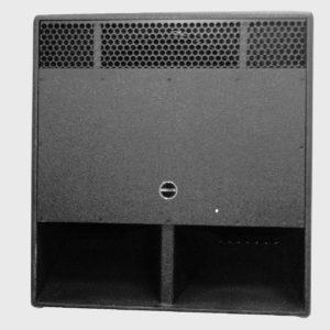 """Invotone ASX18S - пассивный бандпасс сабвуфер 18"""", 600 Вт, 4 Ом, 36-180Гц, 126 дБ SPL, артикул 446657"""