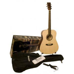 Гитара акустическая Beaumont DG80K/NA — цвет-натуральный, в наборе чехол, подставка, струны, Артикул: 449340