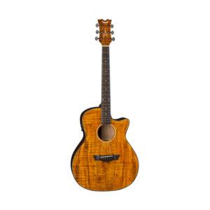 Электроакустическая гитара Dean AX E SPALT — cutaway, ель, 3х полосный EQ, тюнер, Артикул: 451068