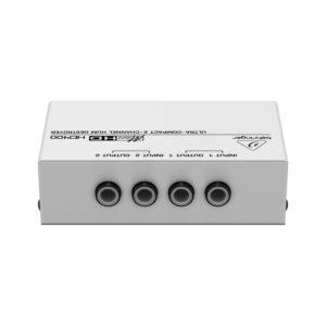 Behringer HD400 - 2-х канальный подавитель сетевого фона и шумов / пассивный DI-box, артикул 442900