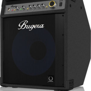 Bugera BXD12 — басовый комбоусилитель, 1000 Вт, 1 х 12″ TURBOSOUND, артикул 448238