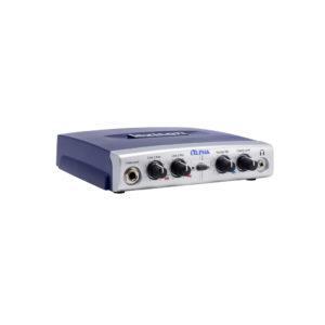 Lexicon Alpha - настольный интерфейс звукозаписи, USB 2.0, 2 вх/ 2 шины/ 2 вых, артикул 450352