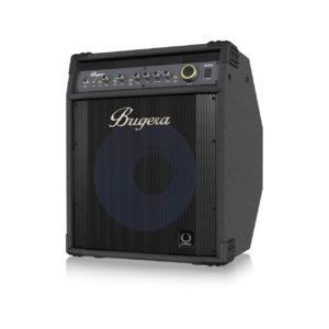 Bugera BXD15A — басовый комбоусилитель, 1000 Вт, 1 х 15″ TURBOSOUND с алюминиевым диффузором, артикул 451178