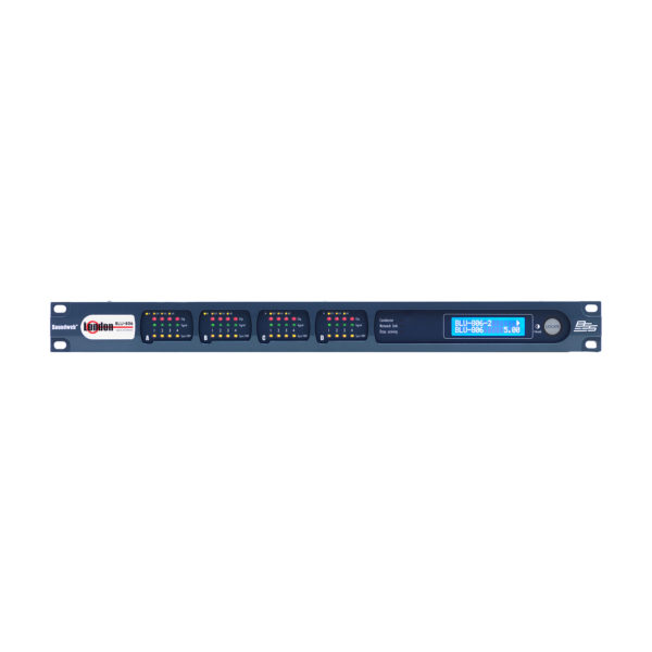 BSS BLU-806 - (Мал*) аудио-матрица с процессором, шасси. BLU-link, Dante (Малайзия), артикул 451877
