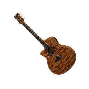Электроакустическая гитара Dean Exotica A/E Bubinga Wood Lefty — ЛЕВОСТОРОННЯЯ, цвет натуральный, Артикул: 452027