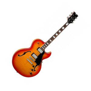 Гитары полуакустические