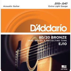 D'ADDARIO EJ10 артикул 46308