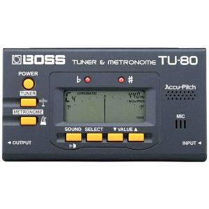 Boss TU80 — Хроматический тюнер с метрономом, артикул 58817
