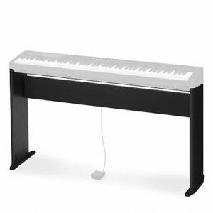 CASIO CS-68PBK - фирменная деревянная стойка для компактных цифровых фортепиано серии CASIO Privia PX-S, цвет черный Артикул УТ000000984
