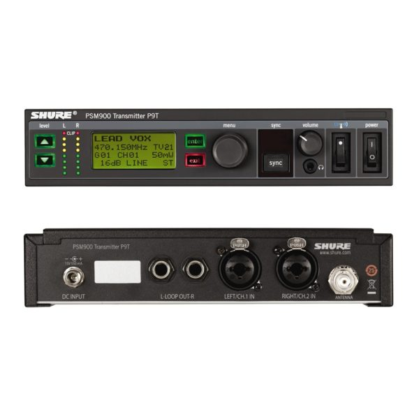 SHURE P9TE L6E - передатчик системы персонального мониторинга PSM900