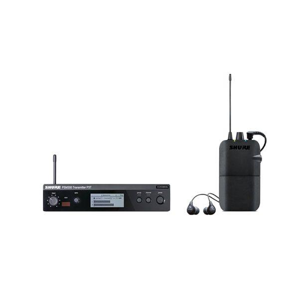 SHURE P3TER112GR K3E - беспроводная система персонального мониторинга PSM300 с наушниками SE112