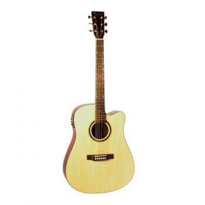 BEAUMONT DG80CE/NA - электроакустическая гитара с вырезом Артикул 444455