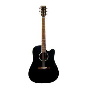 BEAUMONT DG80CE/BK - электроакустическая гитара с вырезом Артикул 444464