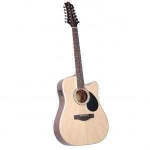 GREG BENNETT GD112SCE/N - электроакустическая гитара с вырезом
