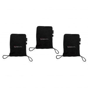 GATOR GFW-MICPOUCH-3PK - комплект из 3-х мягких чехлов для студийных микрофонов Артикул 454112