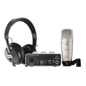 BEHRINGER U-PHORIA STUDIO - комплект для домашней студии звукозаписи Артикул 454429