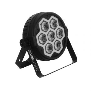 INVOLIGHT LP700 - светодиодный прожектор  RGBWA+UV 7шт  SMD LED