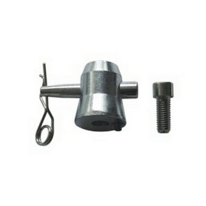 INVOLIGHT CC29-2 - половина втулки с одним отверстием для стыковки ферм болтом М10 Артикул 454484