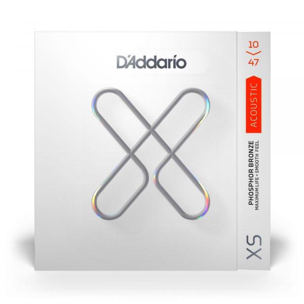 D'ADDARIO XSAPB1047 - струны с покрытием для акустической гитары